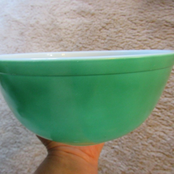 Pyrex Other - Vintage Primary Green Pyrex Nesting Bowl